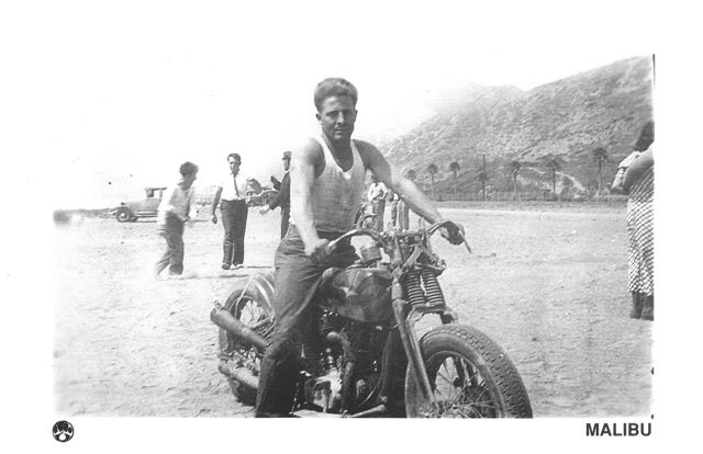Yes, this is Harley VL, bob job, real deal, mid 1930s