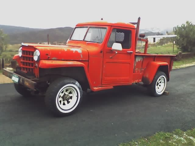 1950 Willys Pickup,  Beat to Shit