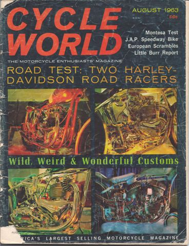 Cycle World, Very Early Issue