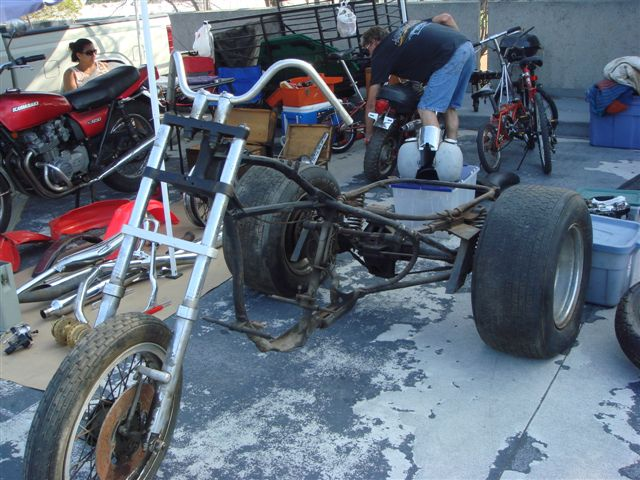Trike, some parts missing