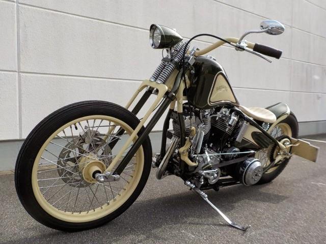 Harley-Davidson FL  48'er Shovel Custom 4